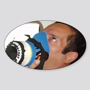 itsagas[206_H_F] Sticker (Oval)